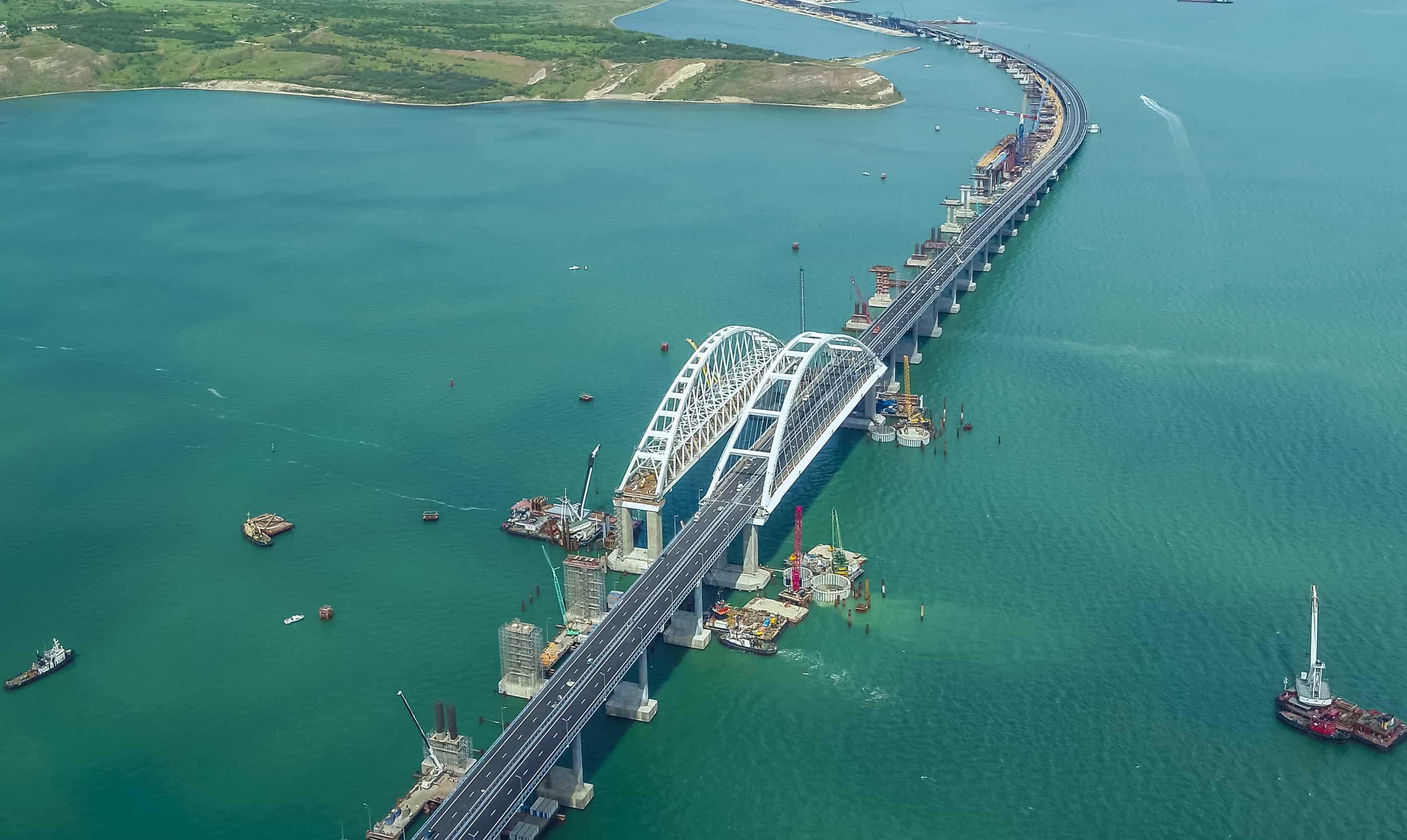 Будівництво мосту у Керченській протоці