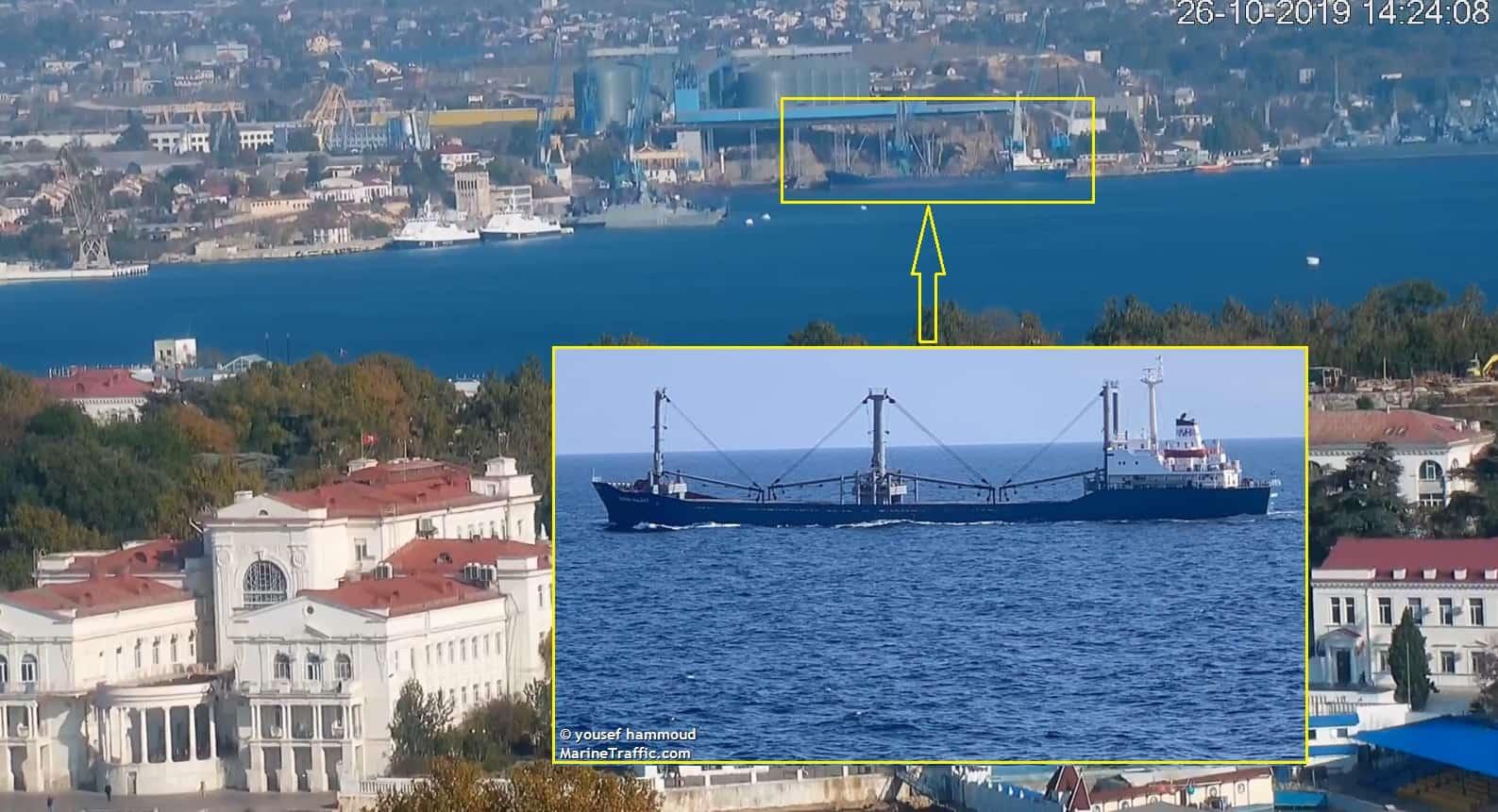 CRYSTAL GALAXY в окупованому Севастополі