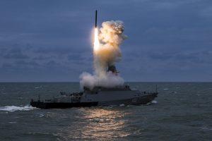 Росія проводить ракетні навчання в Чорному морі