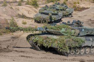 Фінляндія придбала у Нідерландів сотню танків Leopard