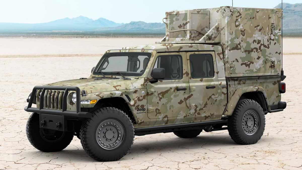 Jeep Gladiator MXT фургон