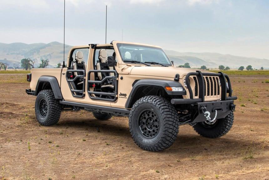 Jeep Gladiator MXT з відкритим верхом