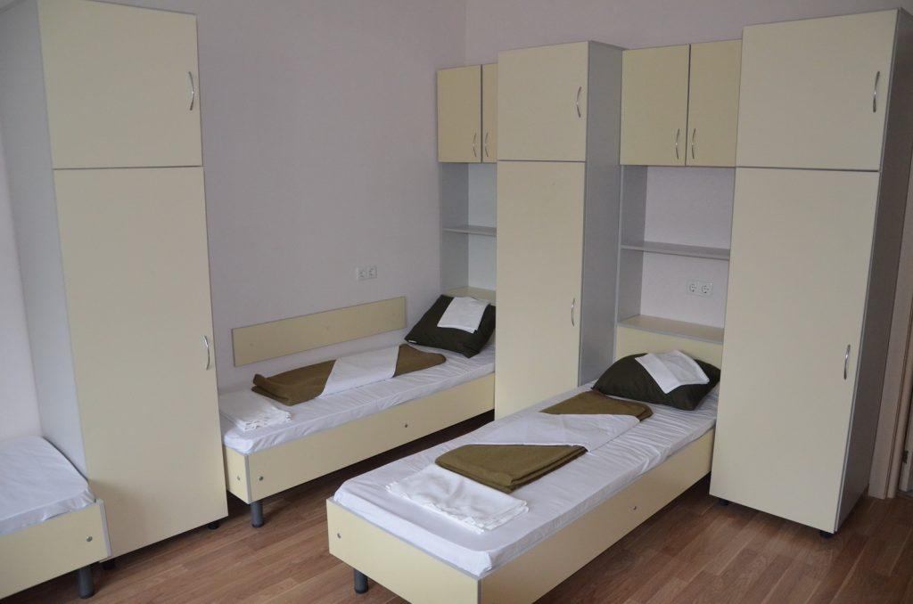Кімната казарми поліпшеного планування для військовослужбовців контрактної служби 28 оМБр