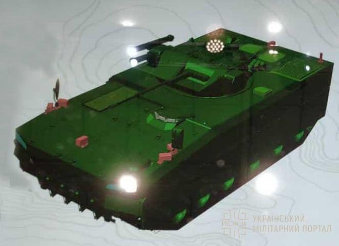 """""""Українська бронетехніка"""" розробляє гусеничну платформу БМП-В"""