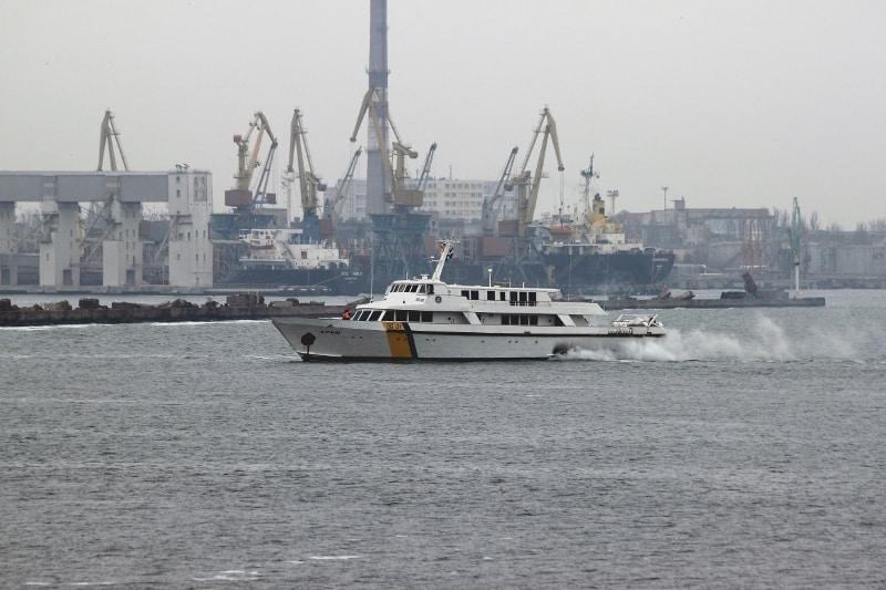 Корабель «Крим» (BG 01) заходить до Одеси в березні 2014-го року