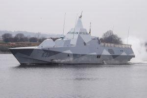Шведи отримали перші два корвети Visby