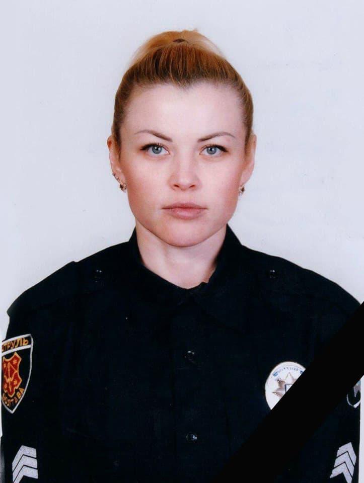 Патрульна поліцейська Марина Фетч
