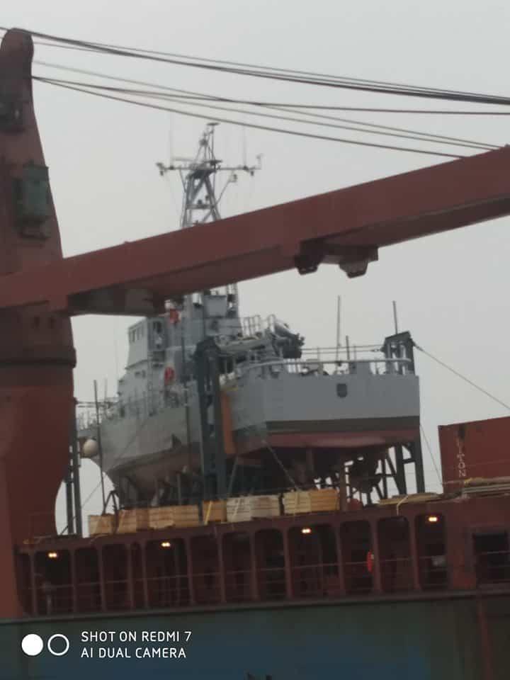 Патрульні катери типу Island прибули до Одеси