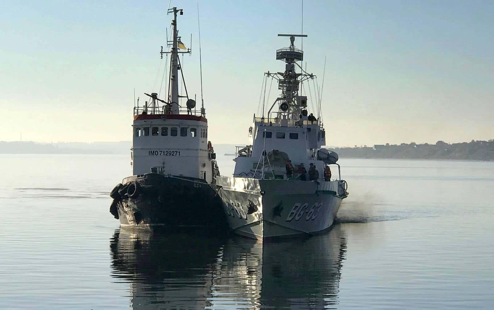 «Павло Державін» (BG 63) прибув у Миколаїв для проведення докового ремонту 1