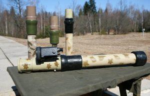 Бойовики застосовують російські гранатомети РПГ-32 «Баркас»