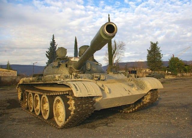 Сербський танк Т-55