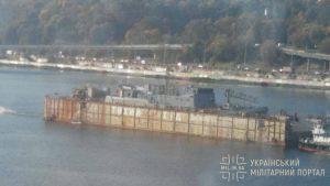 До Одеси транспортують майбутній розвідник ВМС