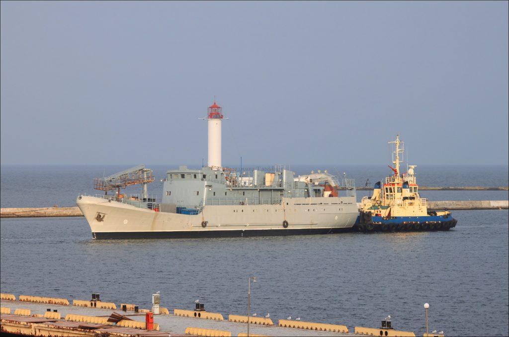 Середній розвідувальний корабель за темою «Лагуна» в Одесі