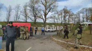 На Луганщині сталась сутичка між ветеранами та поліцією