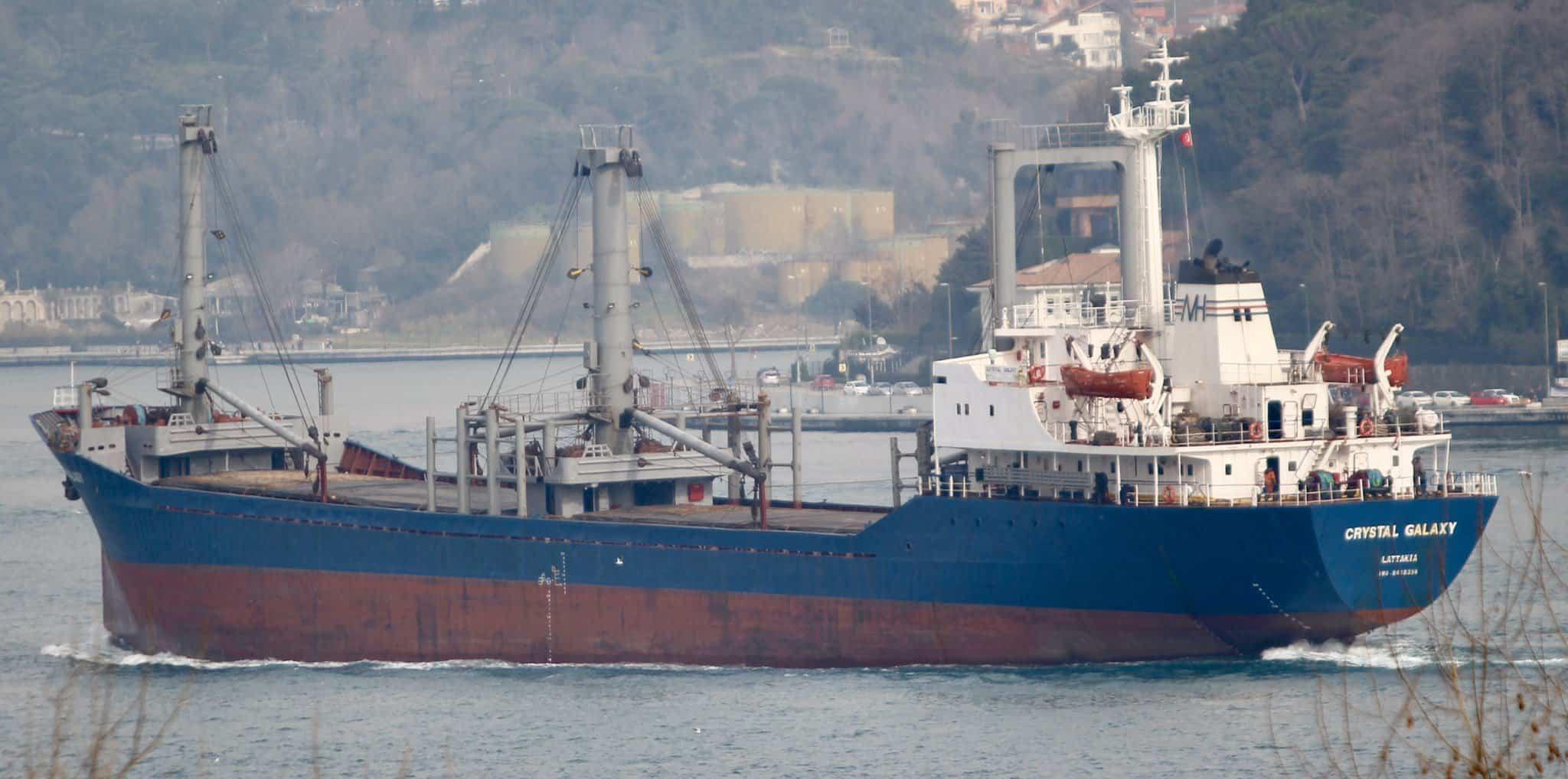 Судно під прапором Сирії зайшло в закритий порт Севастополя