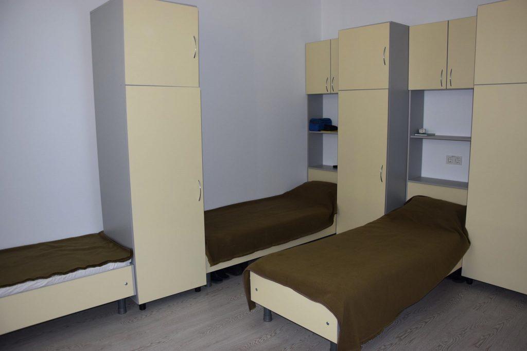 Типова кімната в казармі поліпшеного планування