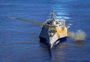Корабель США здійснив пуски ракети NSM