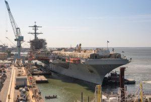 Авіаносець George Washington завершив докову частину ремонту