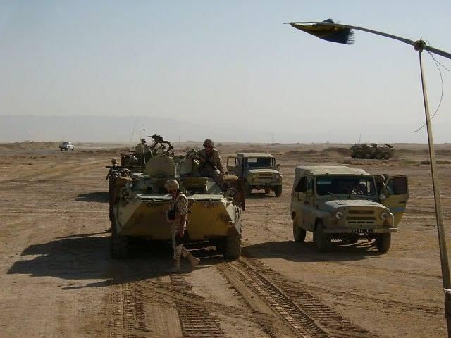 Українські військові в Іраку