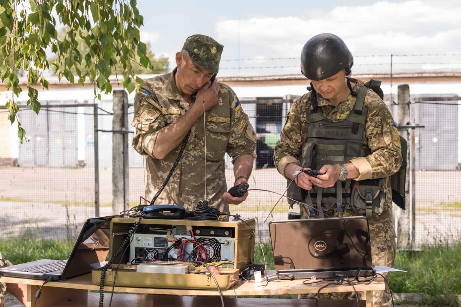 Зв'язок у Збройних Силах України