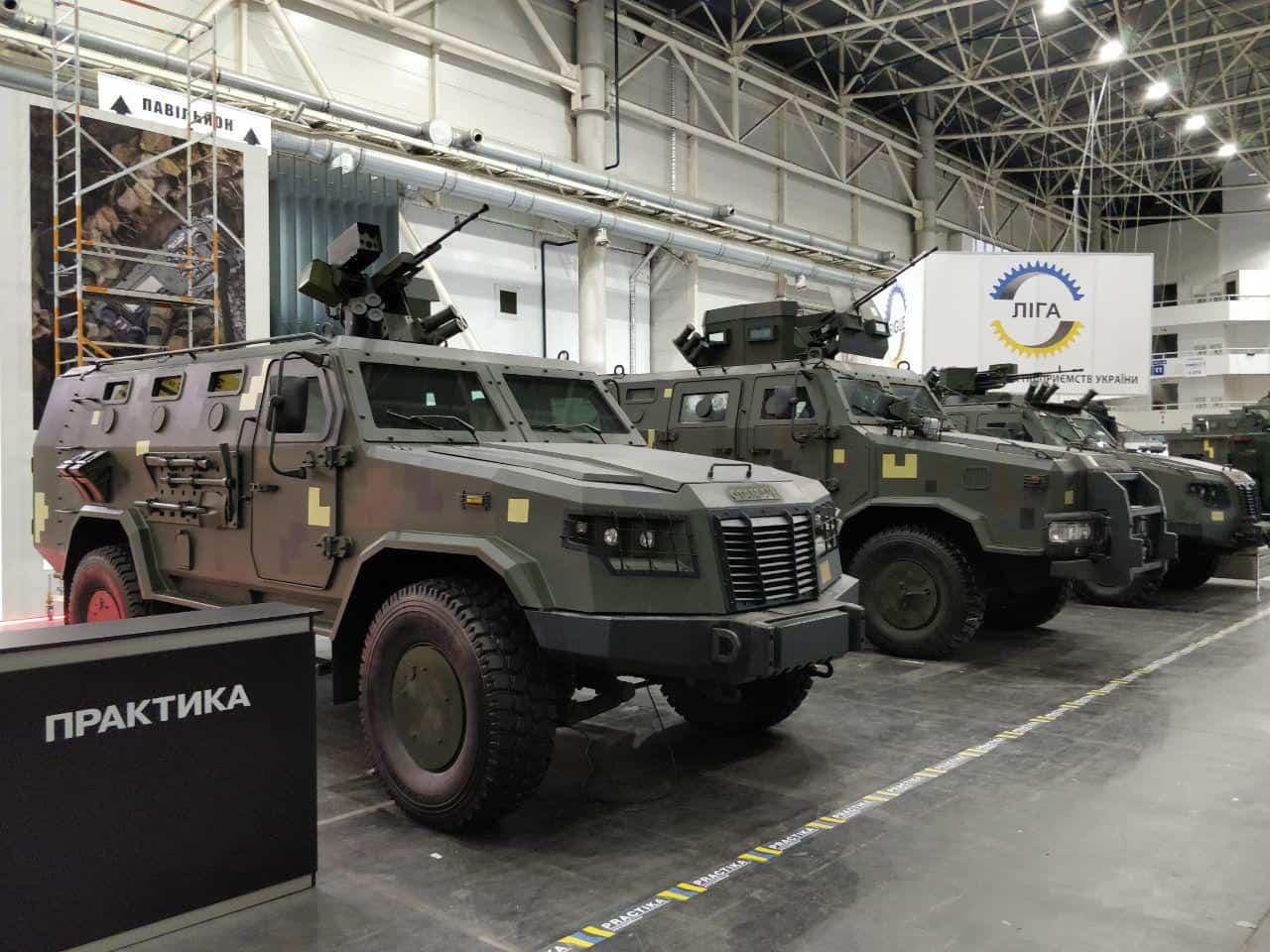 Зброя та безпека-2019: у Києві починає роботу виставка озброєння