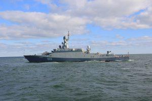 Російські ракетні кораблі зайшли в Азовське море