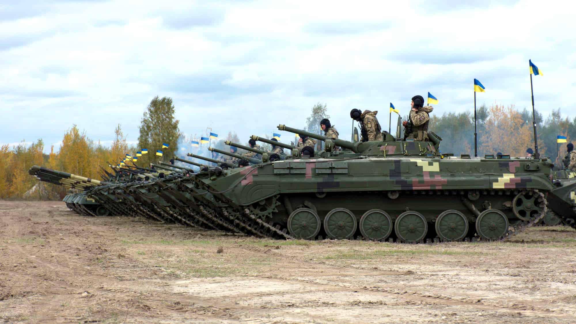 БМП-1 однієї з частин ЗСУ
