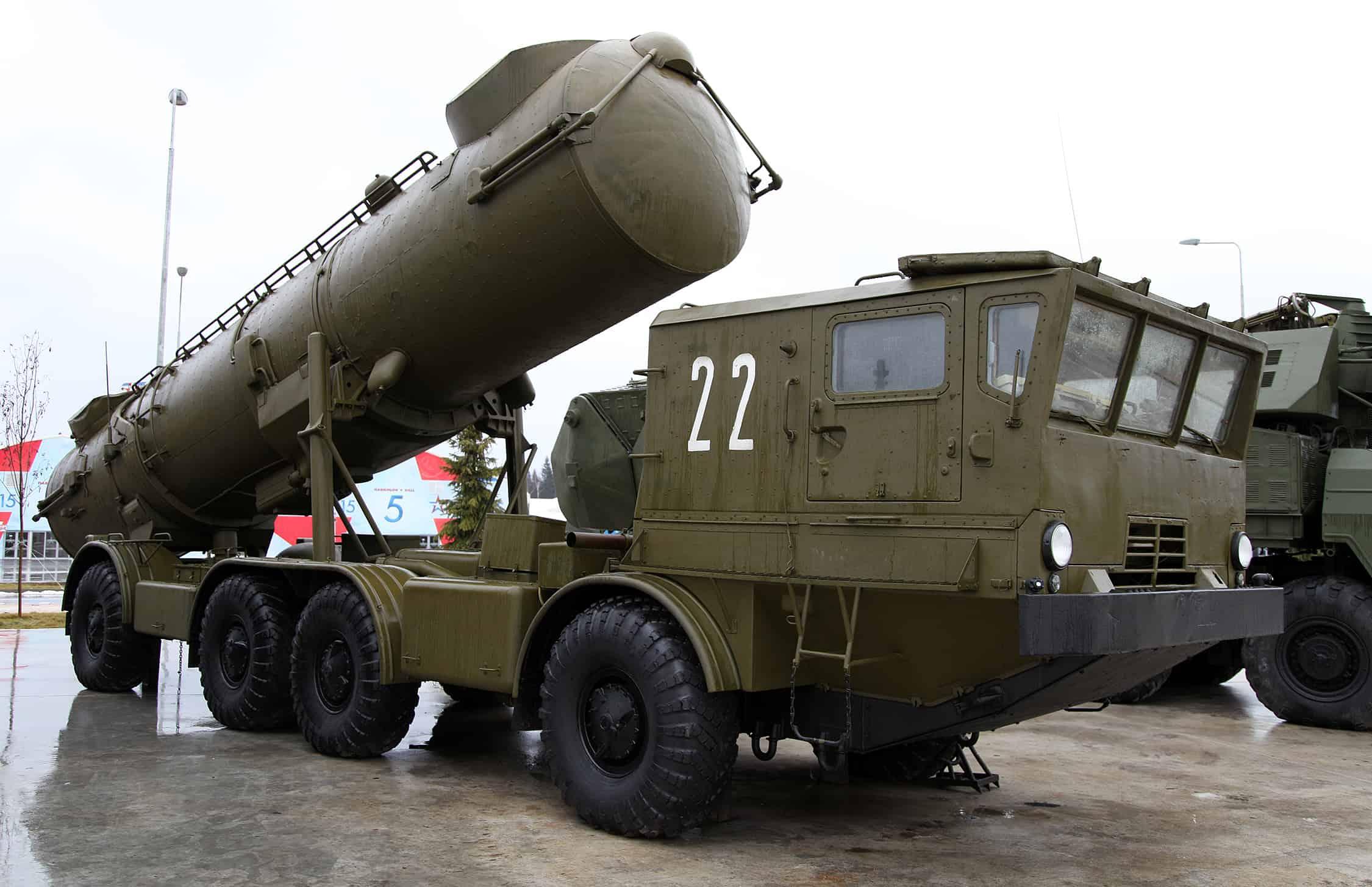 Береговий ракетний комплекс 4К44 Редут