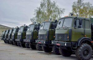 До 30-ї бригади доставлена партія «Богдан-63172»