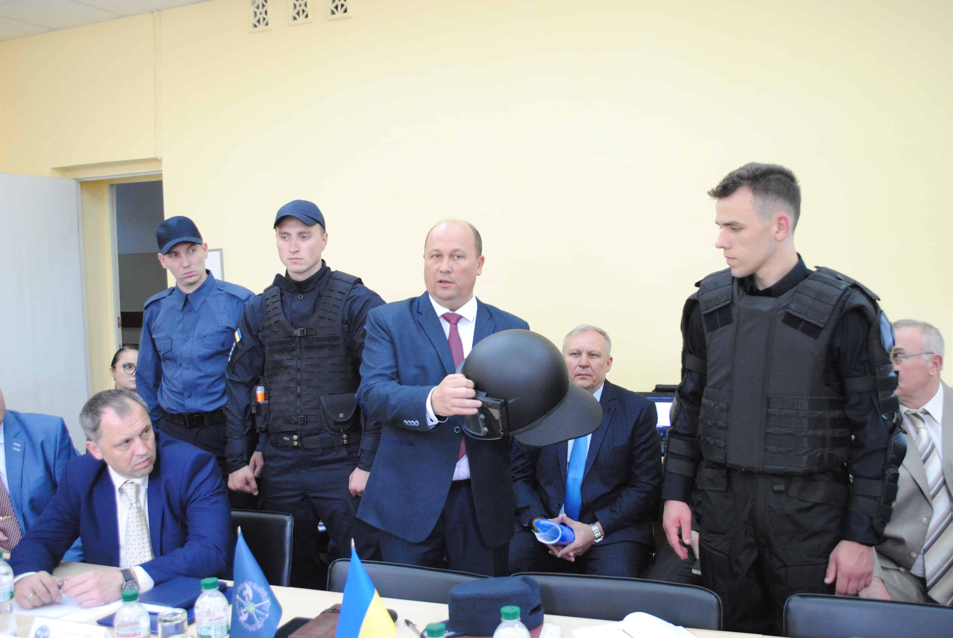 Формений одяг та засоби індивідуального захисту працівників Служби судової охорони