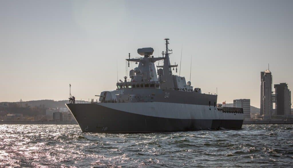 Корвет ORP Slązak (241) ВМС Польщі