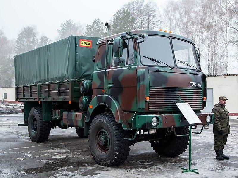 МАЗ-5316 на озброєнні Національної Гвардії України