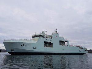Канада спустила на воду другий патрульний корабель для Арктики