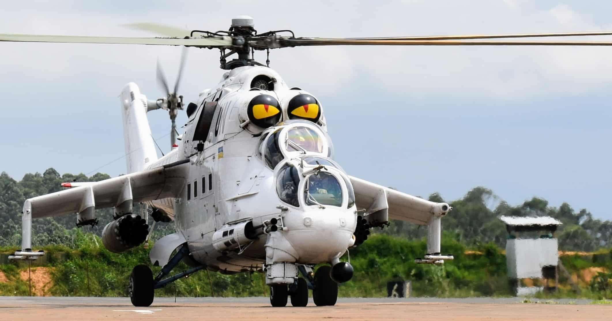 Мі-24 18-го окремого вертолітного загону