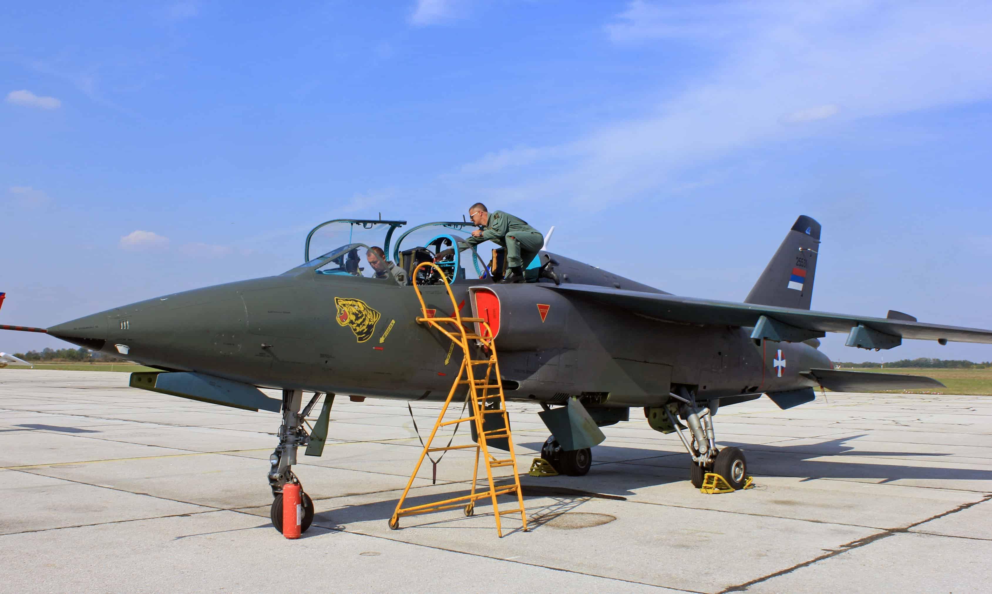 NJ-22 Orao на озброєнні сербської армії