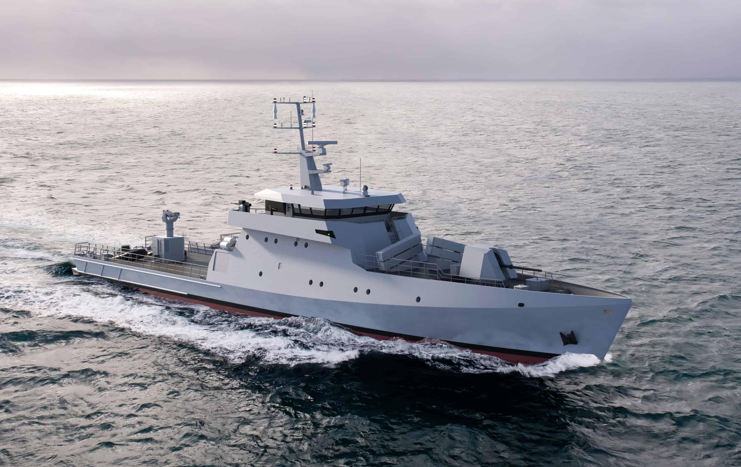Французька компанія побудує для Сенегалу ракетні катери