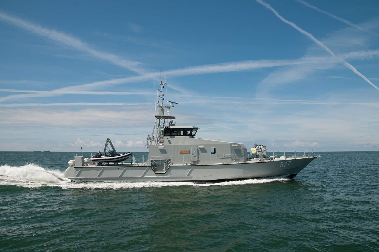 Морська охорона отримає 20 кораблів за 136,5 млн євро