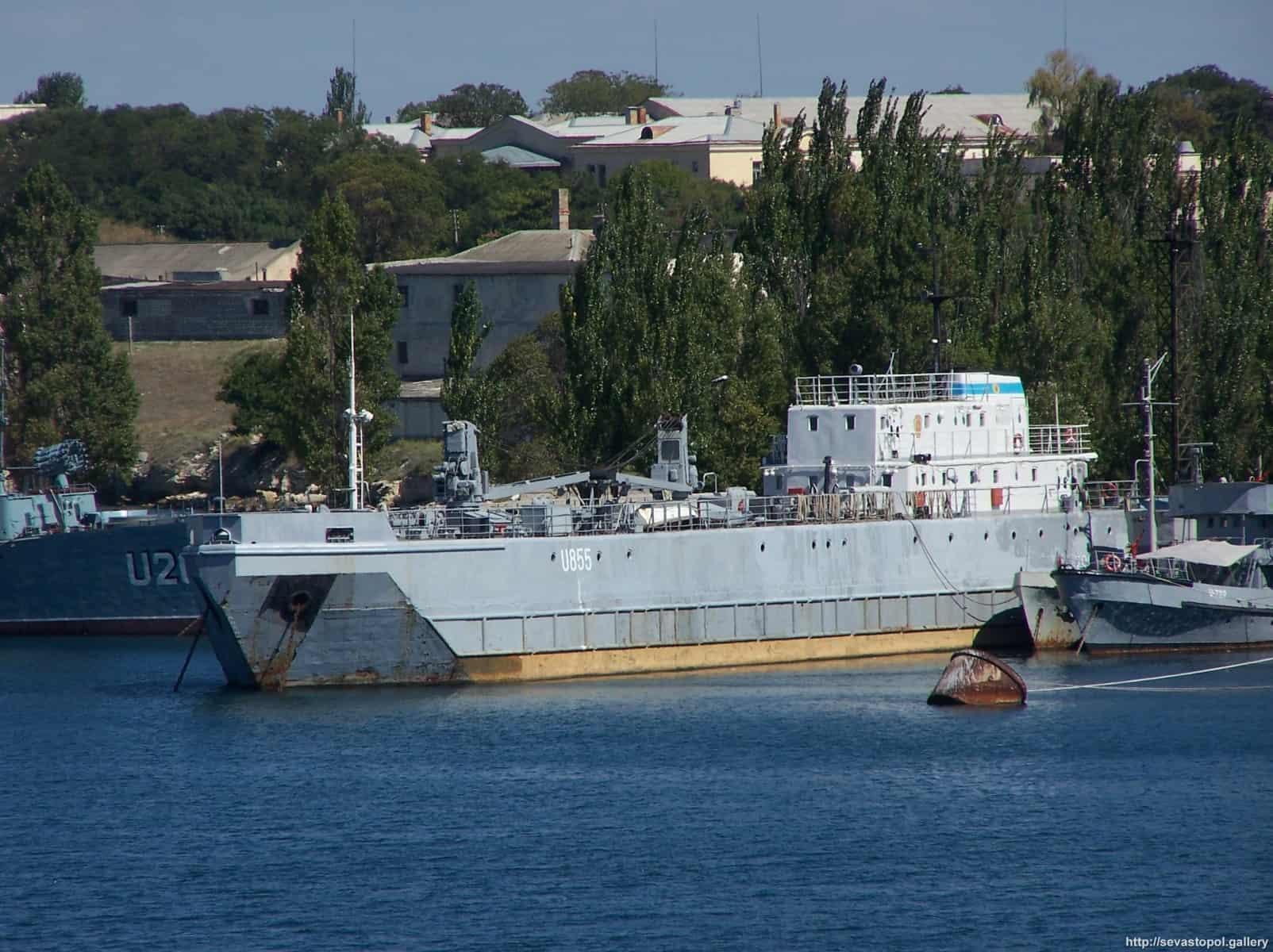 Плавсклад Золотоноша (U855) ВМС ЗС України