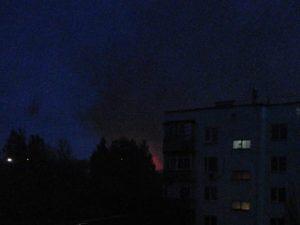 В Таганрозі горить цех підприємства російського ОПК
