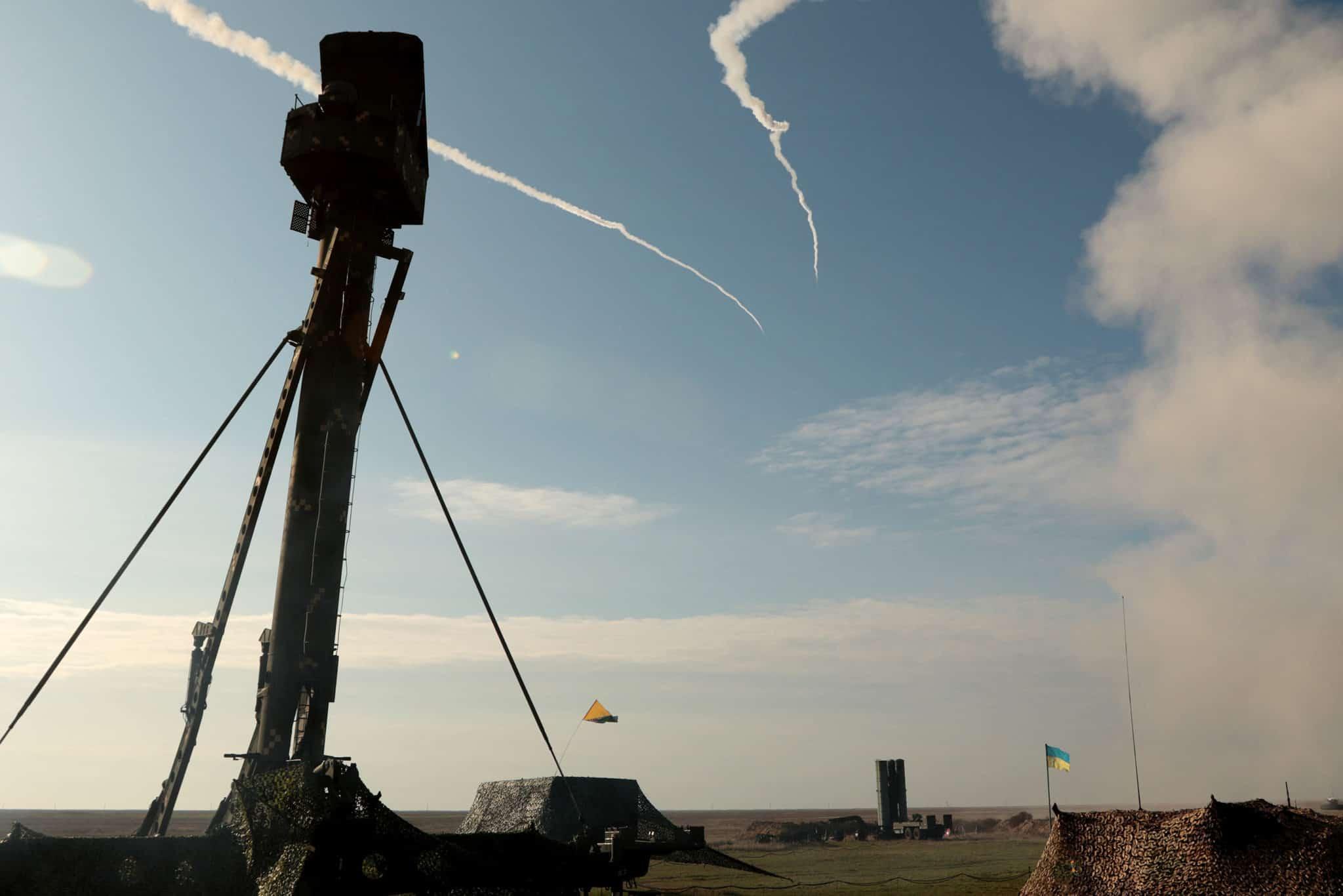 Практичні пуски з зенітних ракетних комплексів на полігоні Ягорлик