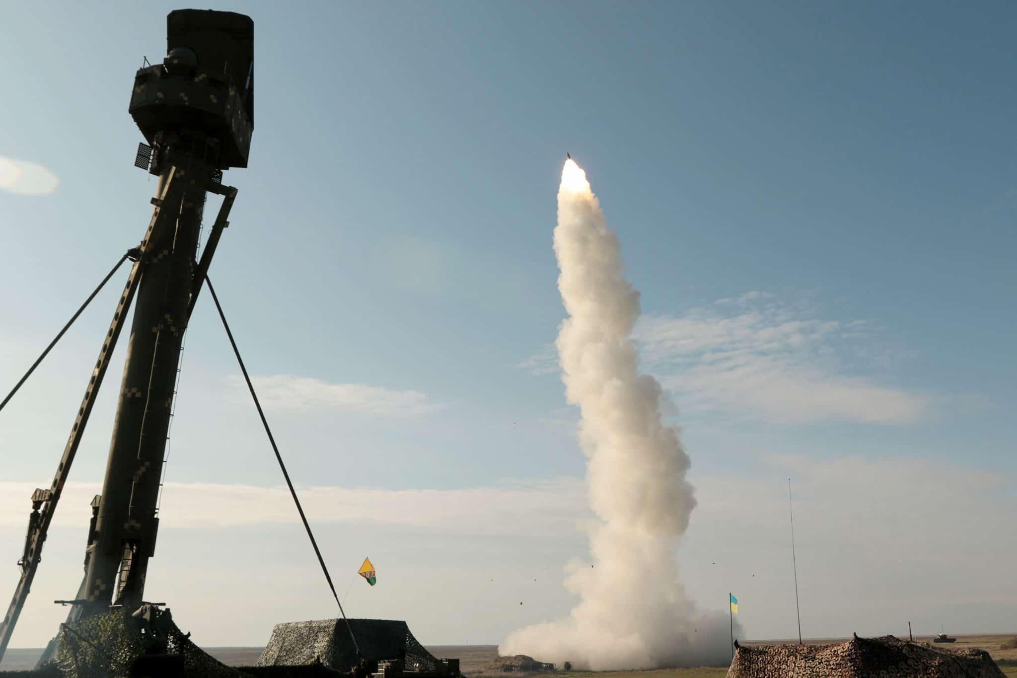Ракетний пуск з ЗРК