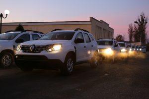 Прикордонники отримали партію Renault Duster