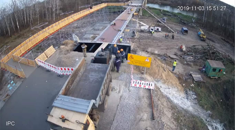 Стан відновлення мосту через Сіверський Донець у Луганській області на 3 листопада 2019-го року
