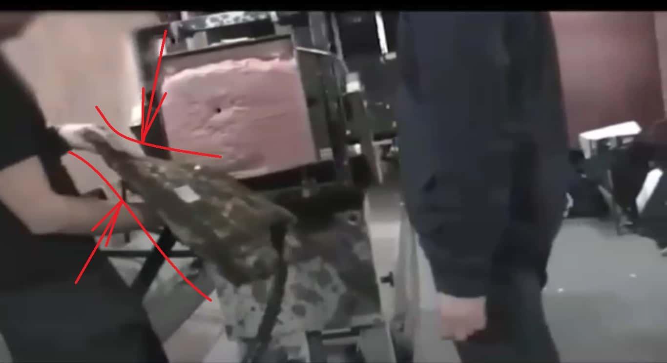 Стопкадр на 14-й секунді відео опублікованому Романом Трубою