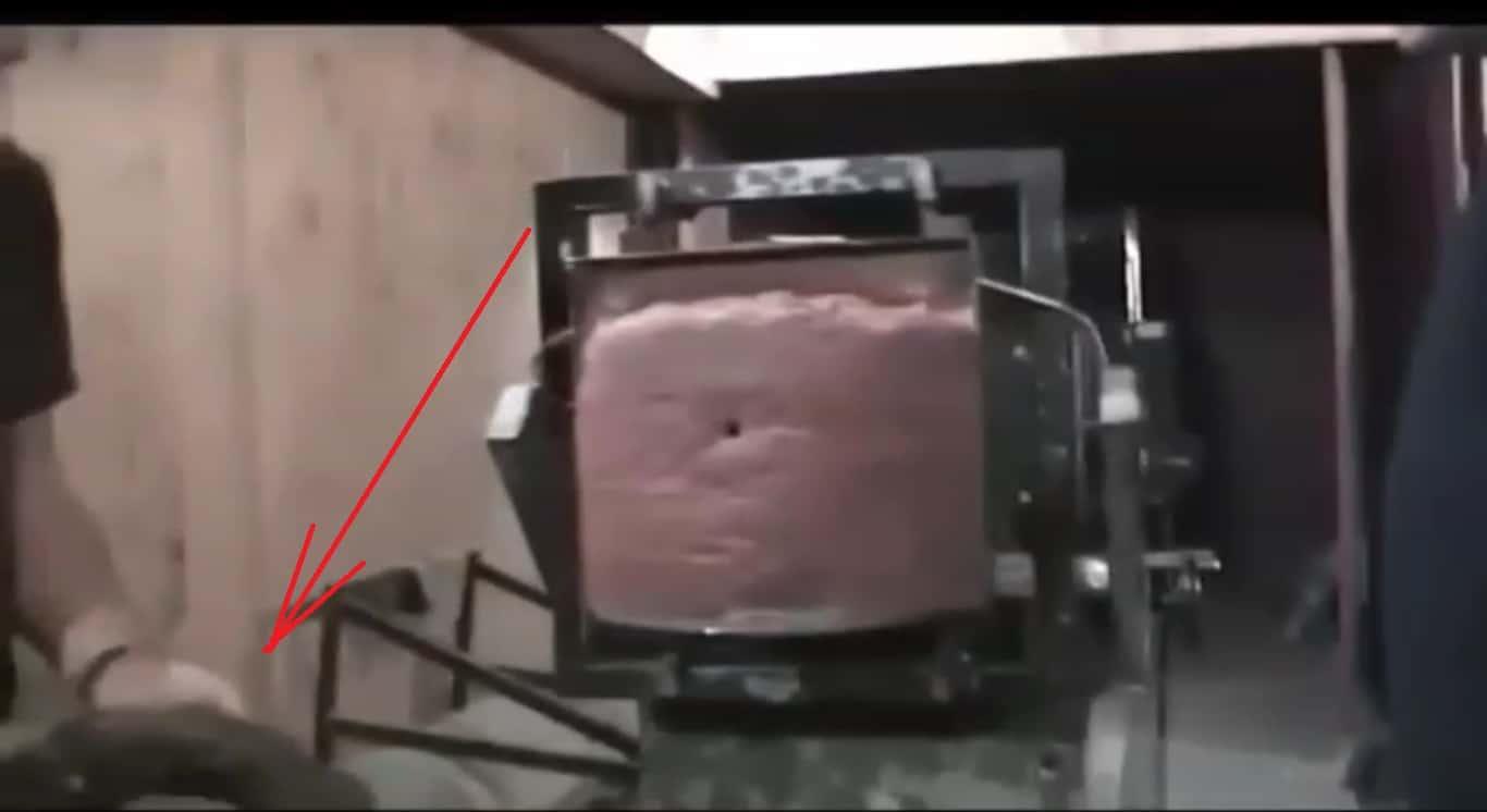Стопкадр на 16-й секунді відео опублікованому Романом Трубою