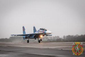Друга партія Су-30СМ прибула до Білорусі