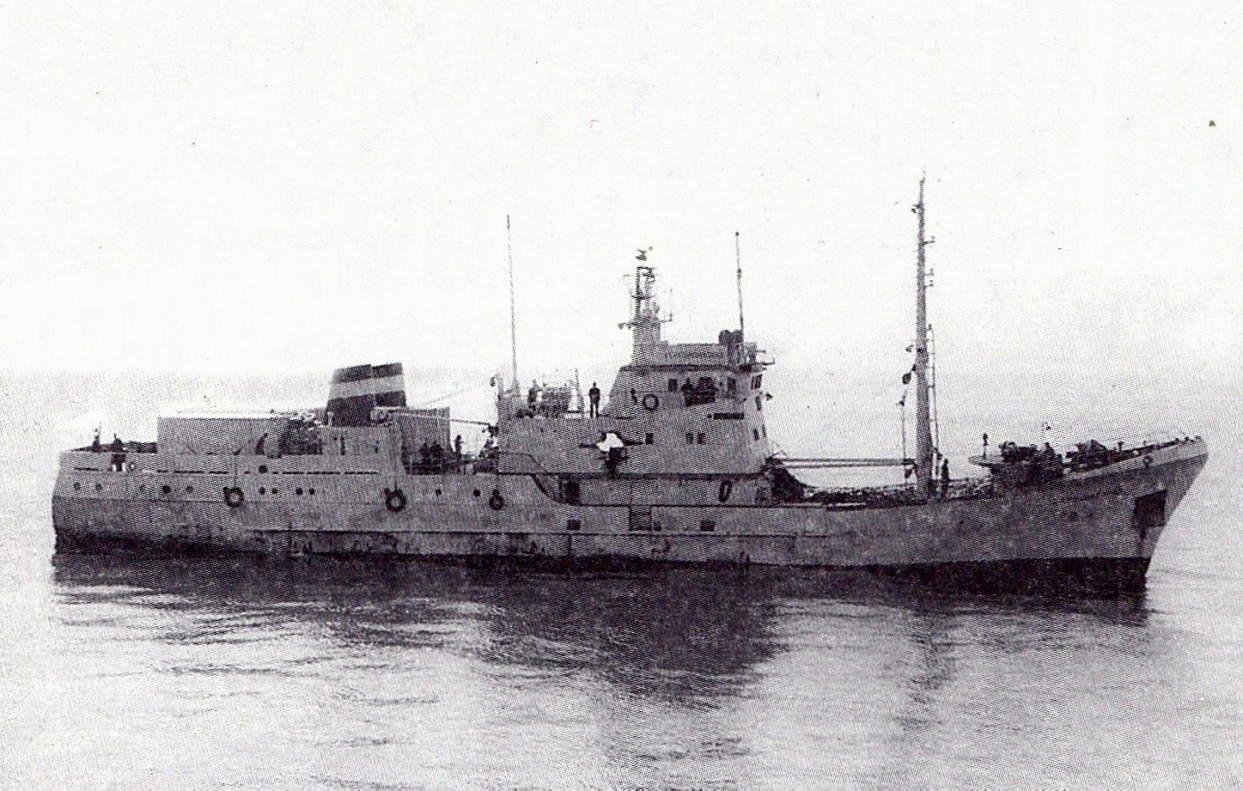 Обстріл росіянами цивільного українського судна в 2000-му році