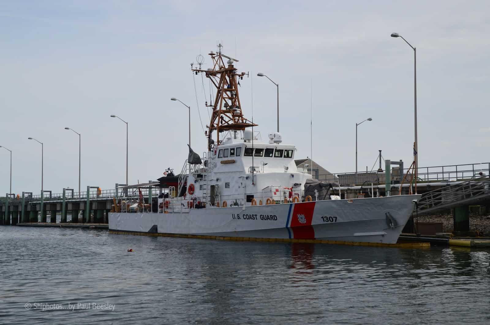 Патрульний катер USCGC Ocracoke (WPB-1307) типу Island Берегової охорони США