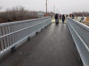 У Станиці Луганській відкрили міст