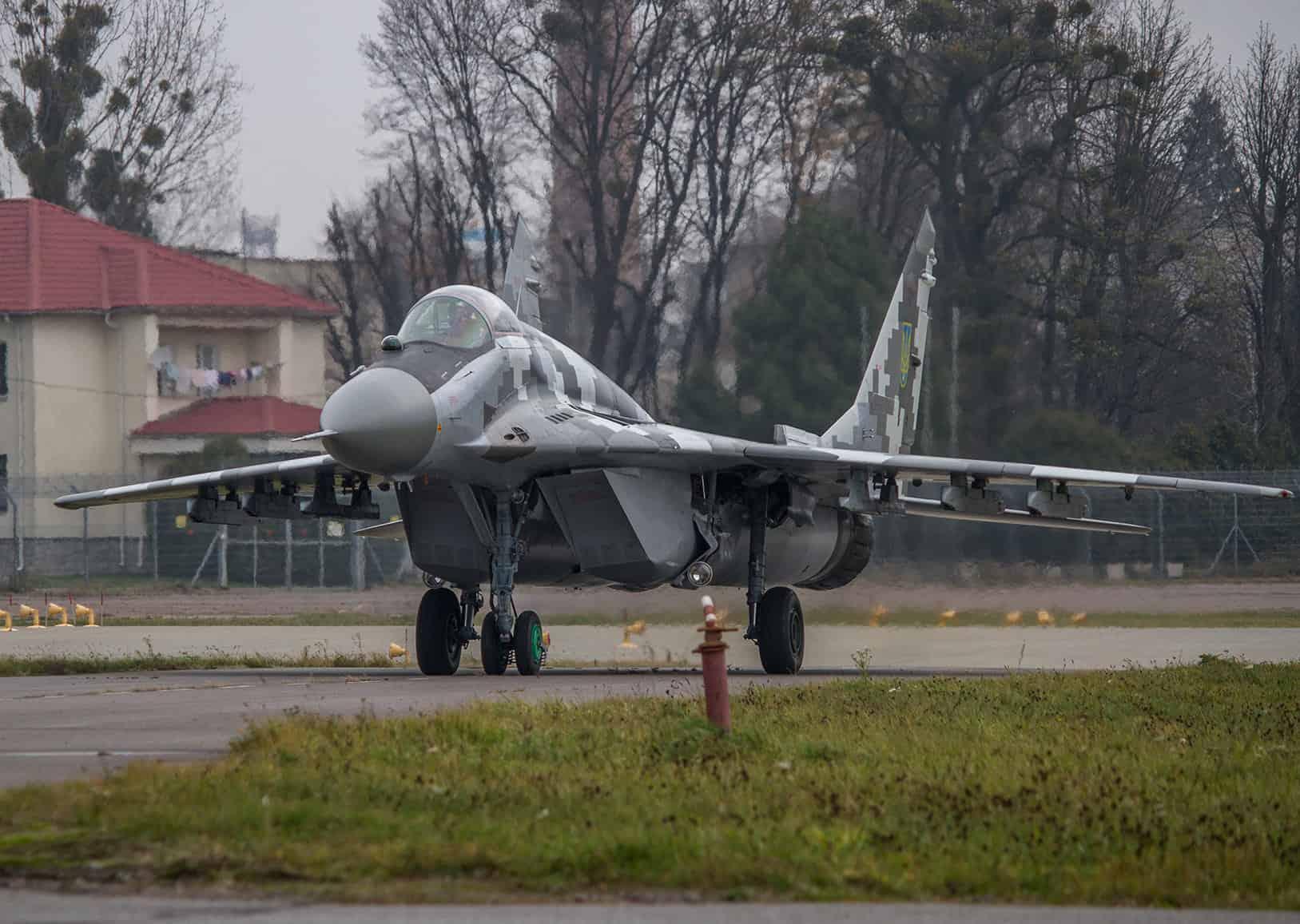 Відремонтований та модернізований МіГ-29